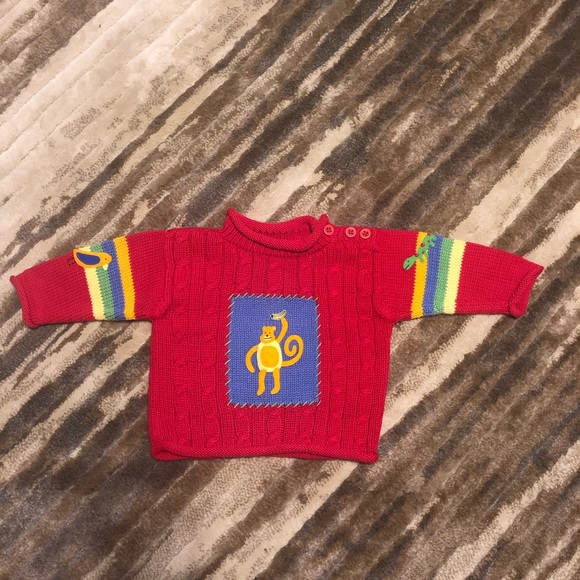 Hanna Andersson Other - Hanna Andersson Long Sleeve Sweater 70 6-12 Months